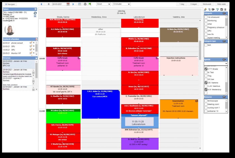 Tailored calendar